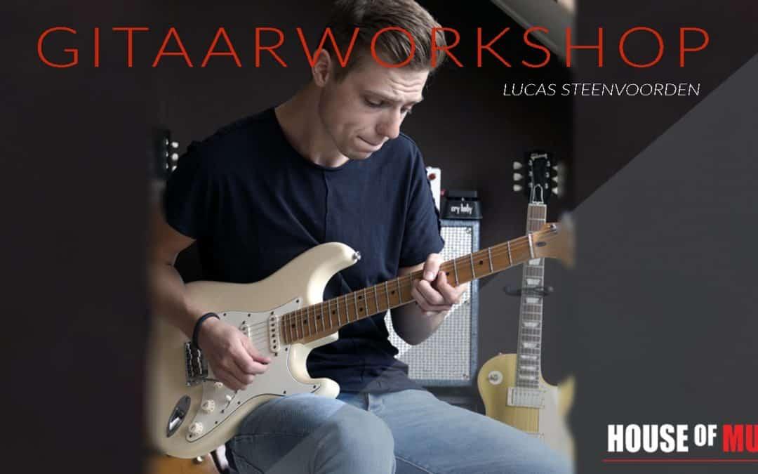 Gitaarworkshop! Leer gitaarspelen zoals de moderne gitarist.