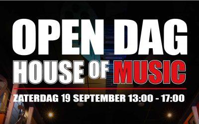Open dag muziekschool House of Music