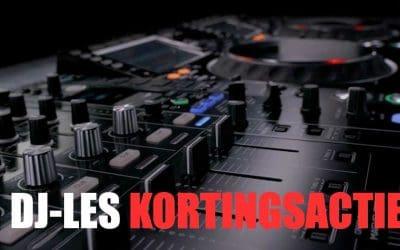 Actie DJ-les – 20% korting op eerste 10 lessen