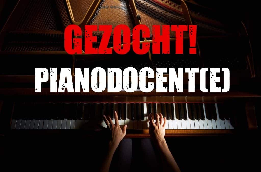 Vacature docent piano
