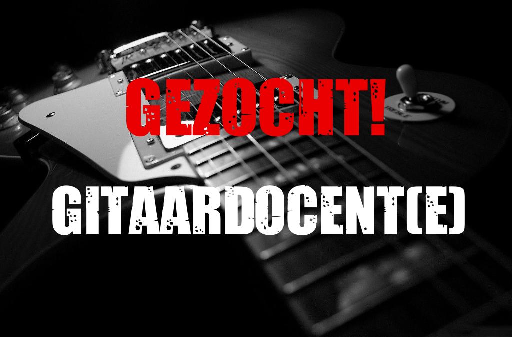 Vacature gitaardocent (m/v)